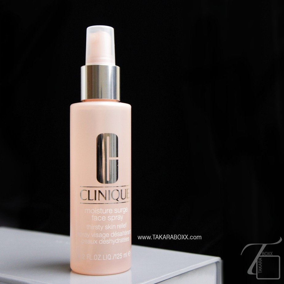 Clinique Moisture Surge Face Spray Thirsty Skin Relief Review