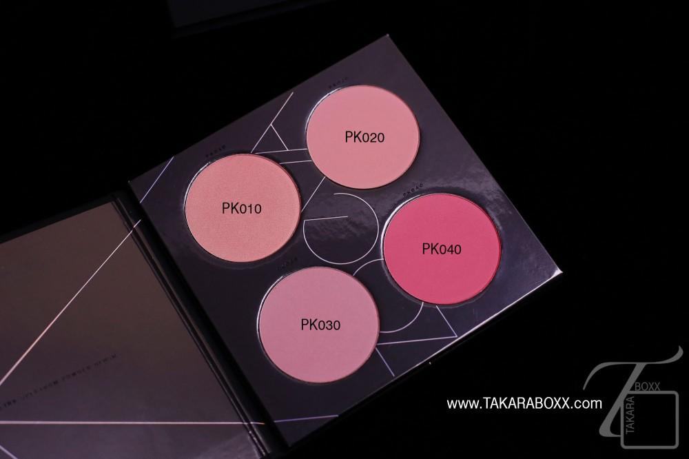 ZOEVA Pink Spectrum Blush Palette Shade Names