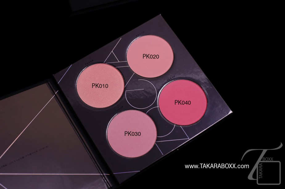 ZOEVA Pink Spectrum Blush Palette Shade Names
