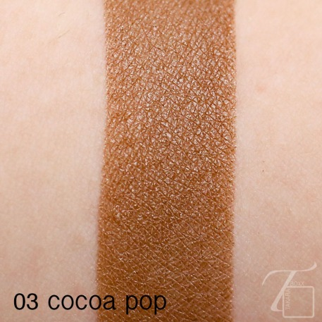 CLINIQUE Cocoa Pop Swatch