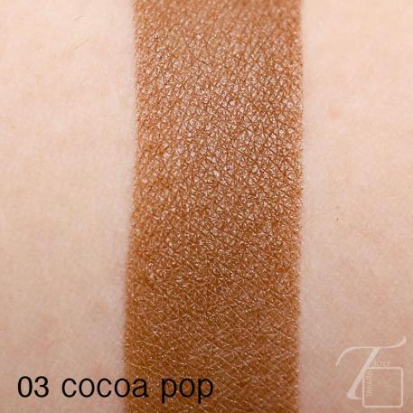CLINIQUE Cocoa Pop Swatch