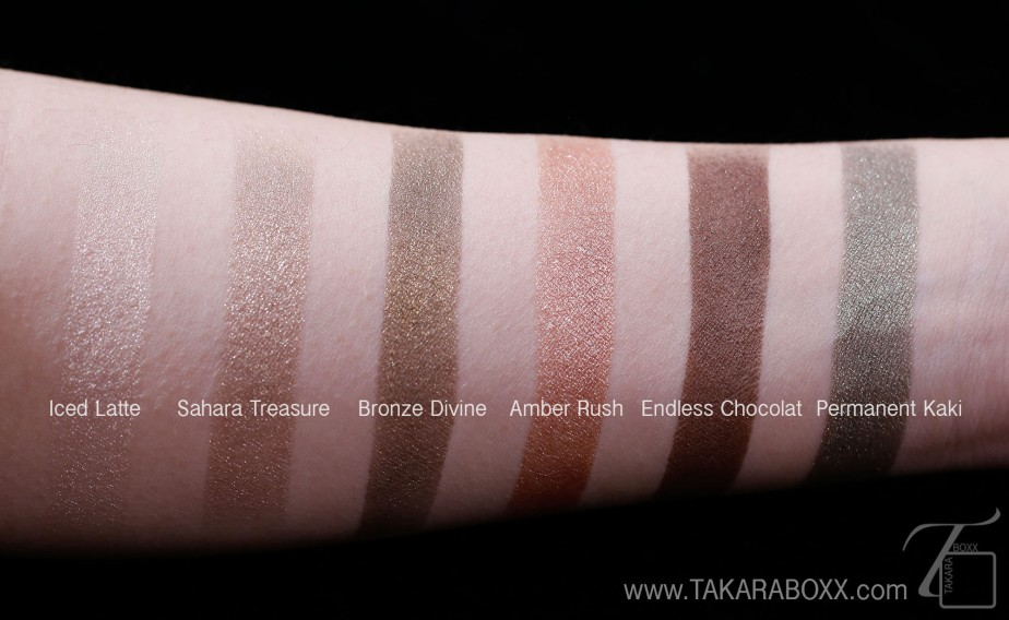 L'Oreal Paris Infallible Eyeshadow Swatches