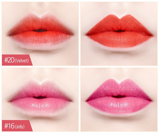 Etude House Play 101 Blending Pencil Lip Swatches