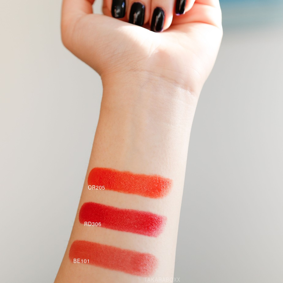 Etude House Dear My Enamel Lips-talk Arm Swatches (Daylight)