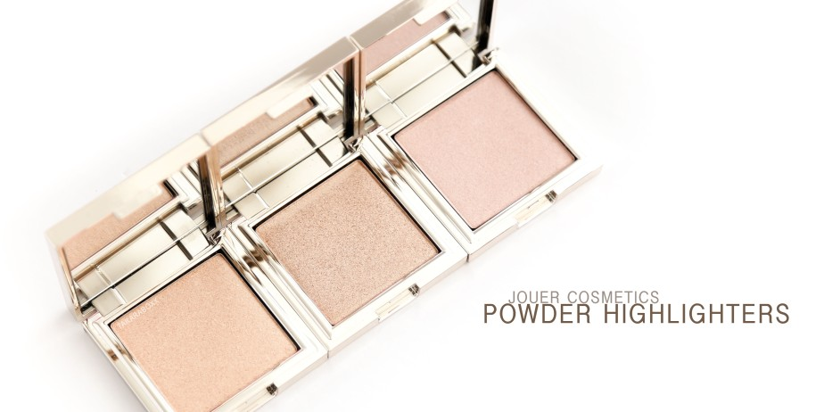 JOUER Powder Highlighters Swatches & Review