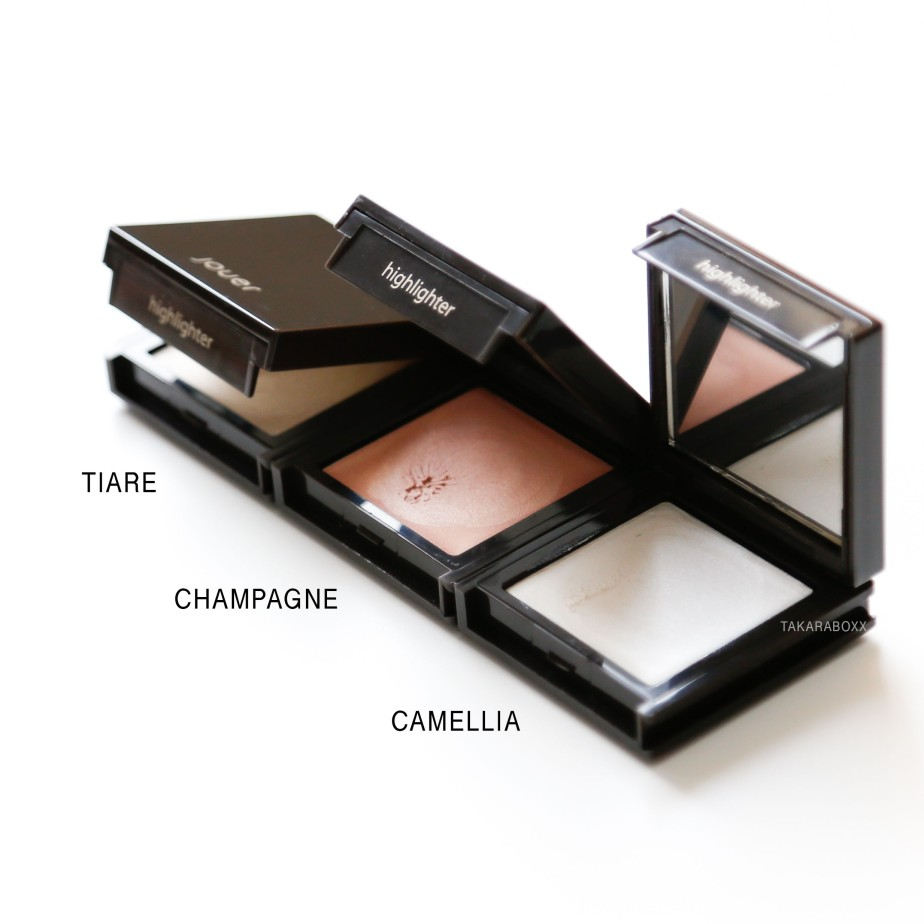 Jouer Cream Highlighters Tiare Champagne Camellia