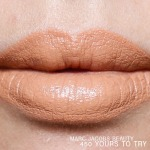 Marc Jacobs Beauty Le Marc Liquid Lip Creme 450 Yours to Try Swatch