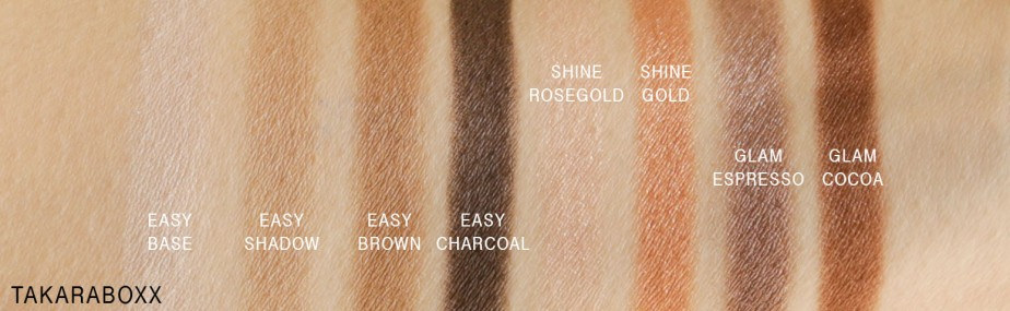 memebox Pony Effect Pony Shine Easy Glam Swatches Shade