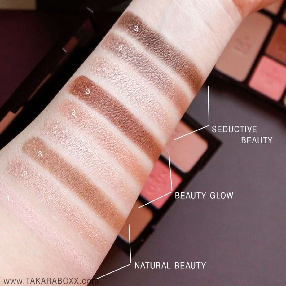 Charlotte Tilbury Instant Look in a Palette Eyeshadow Swatches