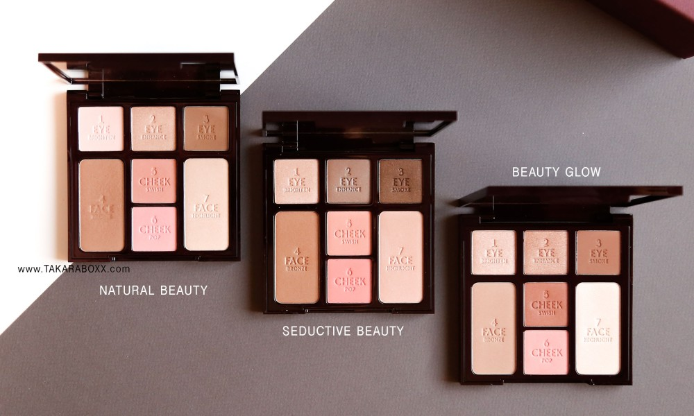 Charlotte Tilbury Instant Look in a Palette Natural Beauty Beauty Glow Seductive Beauty