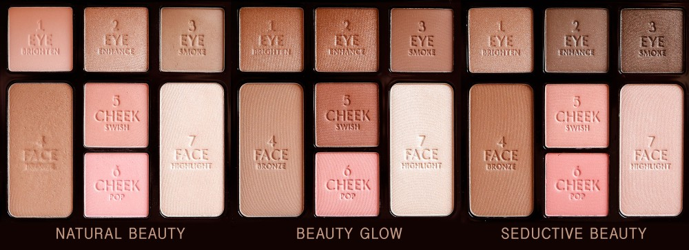 CharlotteTilbury Instant Look in a Palette Natural Glow Seductive